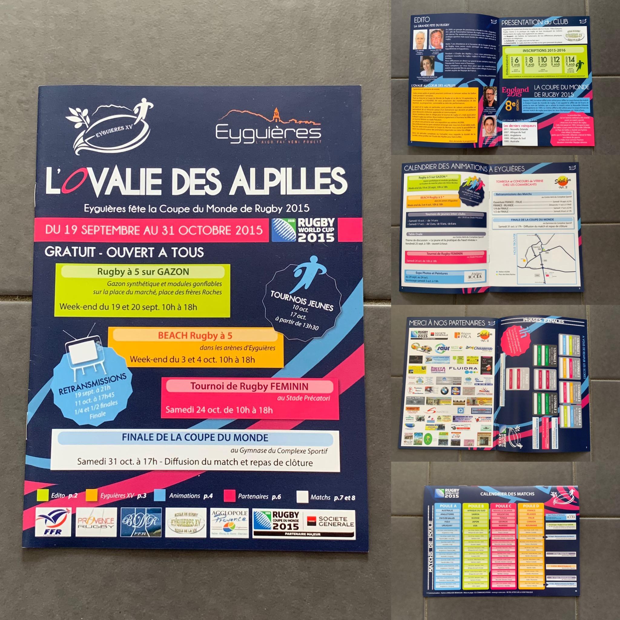 Ovalie des Alpilles Eyguières (13) - Brochure