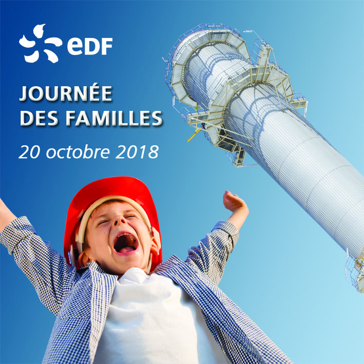 Campagne visuelle pour la journée des Familles 2018 - EDF Martigues - Stop Trottoir