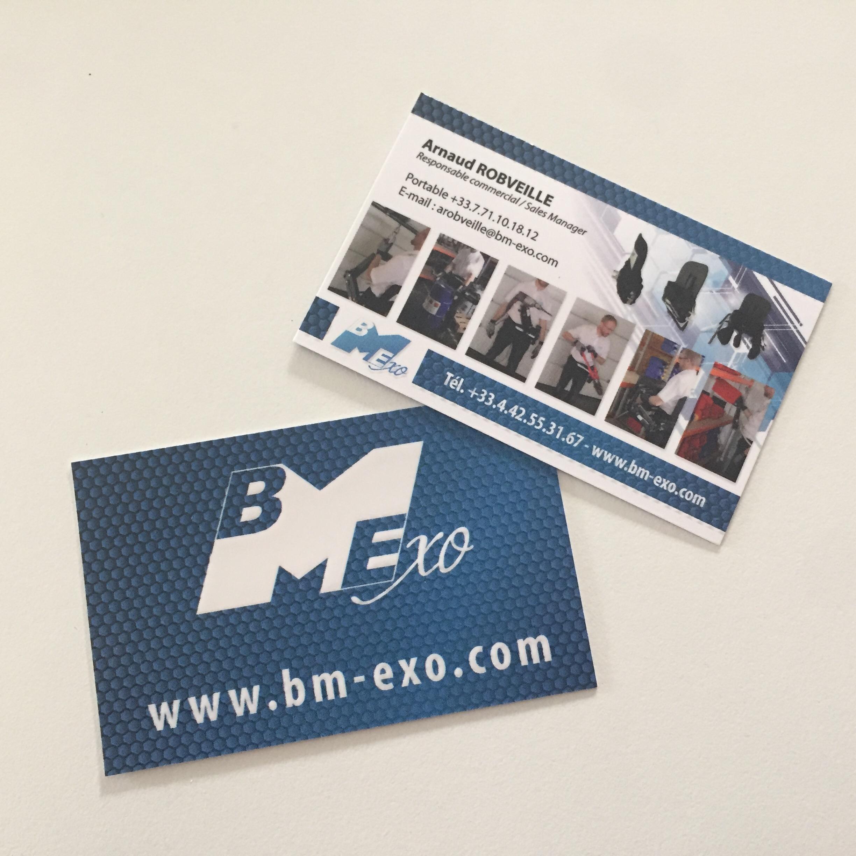 Cartes de visites pour BMExo