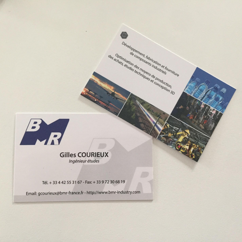 Cartes de visites pour BMR