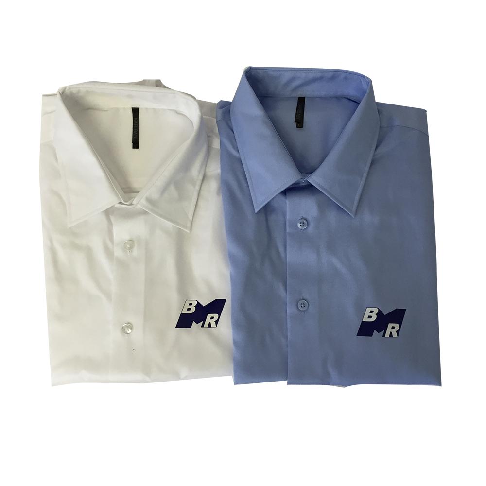 Chemises publicitaires personnalisées au logo de votre société
